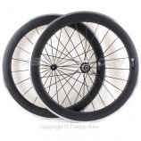 60mm Carbon&Alu wheelset with Powerway R36