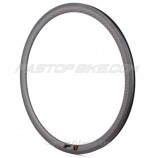 12K Weave 38mm Clincher Ultra Light V-Shape Rim